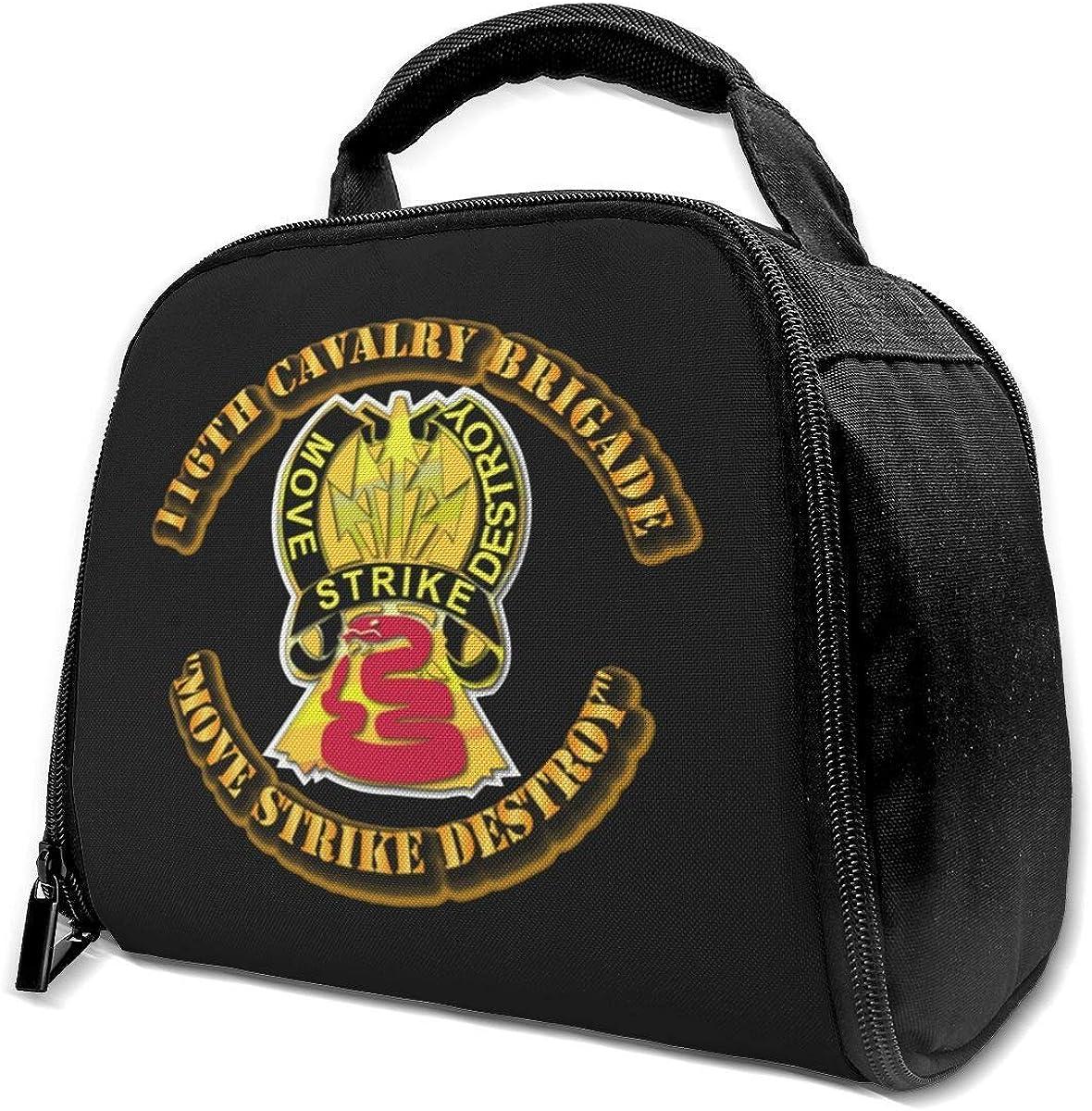 li 116a Brigada de Caballería Bolsa Aislada Bolsa de Almuerzo Caja de Almuerzo Aislada Bolsa de Asas Bolsa de Enfriador Para Picnic Work