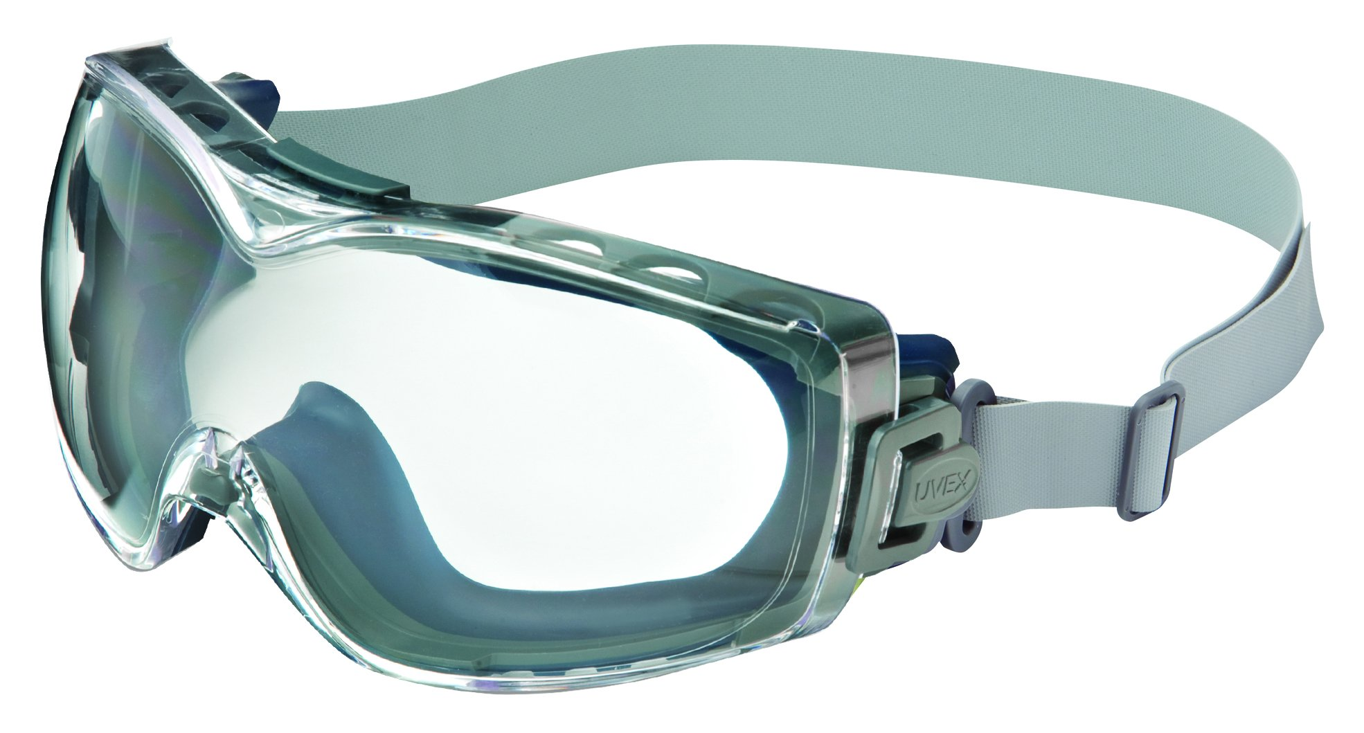 UVEX by Honeywell S740D Stealth OTG Clear Replacement Lens with Dura-streamed Anti-Scratch/Anti-Fog Coatings