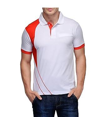0fb130cbf57 Scott Men s Jersey Collar Neck Sports Dryfit T-Shirt - White - sck5xxxl