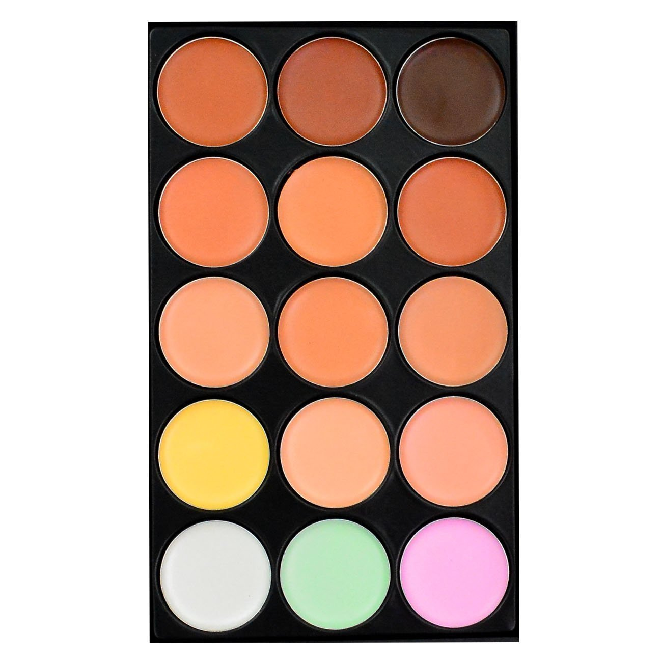 15 Color Concealer Makeup Palette Professional Camouflage Palette by HOVEOX by HOVEOX (Image #2)