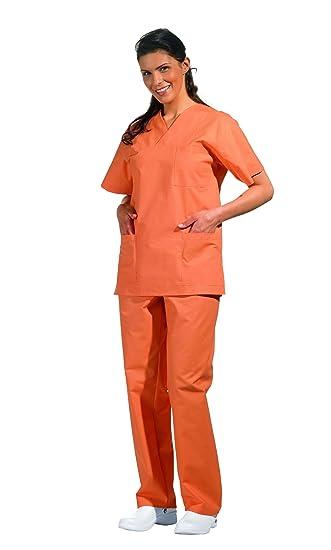 Juego de casaca y pantalón para profesiones sanitarias, para hombre y mujer: Amazon.es: Ropa y accesorios