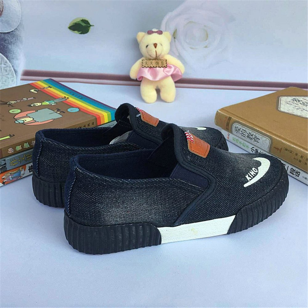 Boys Low Top Classic Canvas Fashion Sneaker