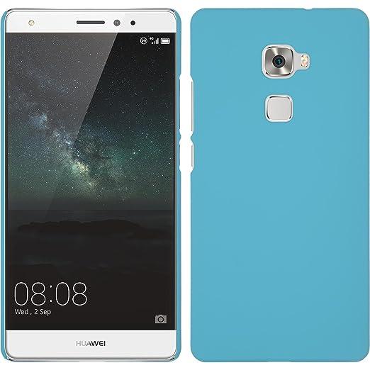 24 opinioni per Custodia Rigida per Huawei Mate S- gommata azzurro- Cover PhoneNatic + pellicola