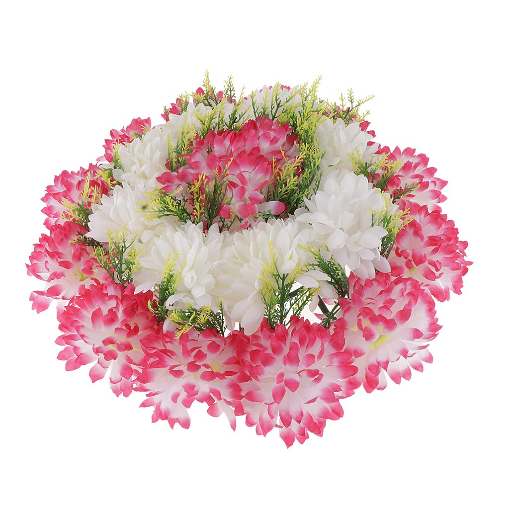 Baoblaze-Artificial-Handcraft-Carnation-Flower-Arrangements-in-Grave-Cemetery-Wreath-Flower