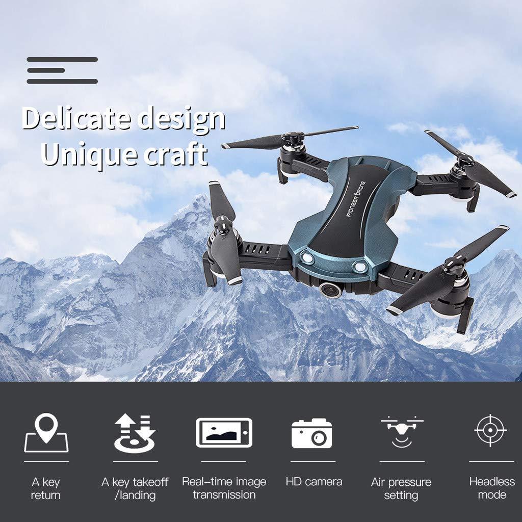 VESNIBA Drone Optical Flow Electricity Adjustment 120°FOV 1080PHD WiFi FPV Drone RC Quadcopter by VESNIBA LLC (Image #7)