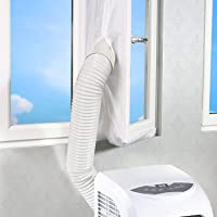 Air Lock airconditioner raamafdichting, 400 cm, voor mobiele airconditioners, afdichtingsplaat, Hot Air Stop…