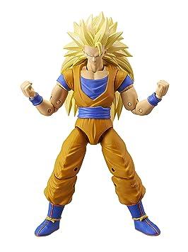 Dragon Ball- Figura Deluxe Super Saiyan 3 Goku, Color (Bandai ...