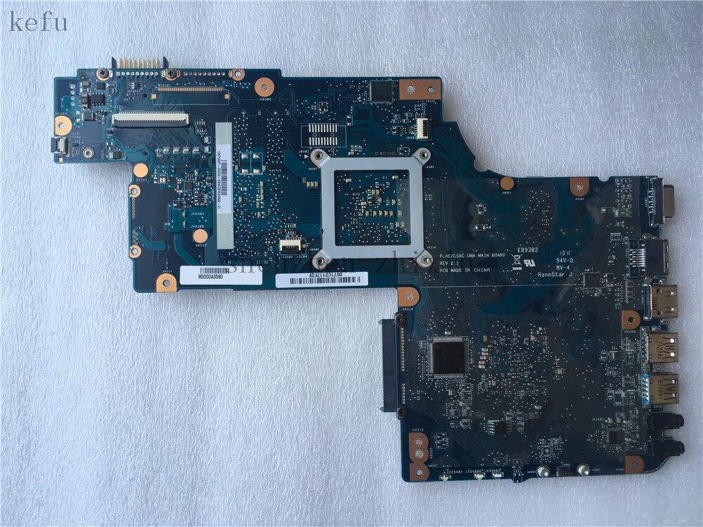 YOUKITTY for Toshiba Satellite C870 C875D L870 L875D Laptop Motherboard 17.3 inch Mainboard DDR3 Socket fs1