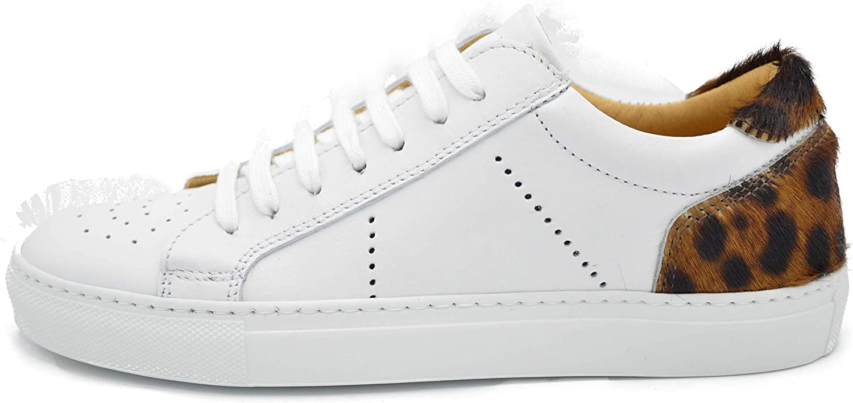drudd EUMAYA B Scarpa Sneakers in Pelle con Riporto in