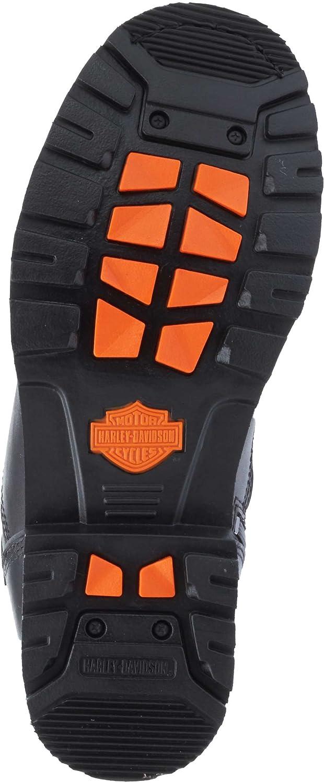 Harley-Davidson Mens Richfield Black Performance Motorcycle Boots D96121