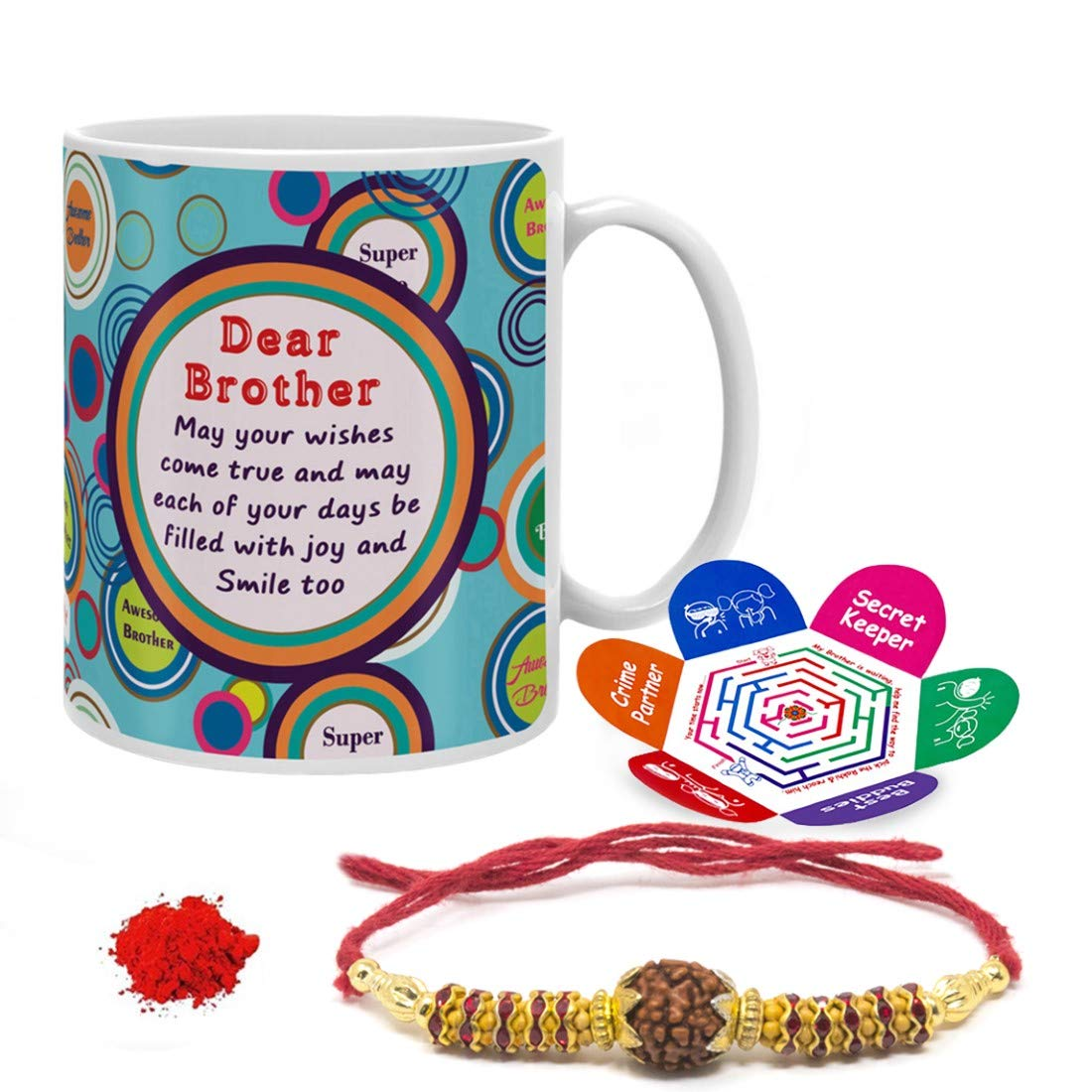 Indi ts Rakhi Gifts for Brother Bro May All Your Wishes