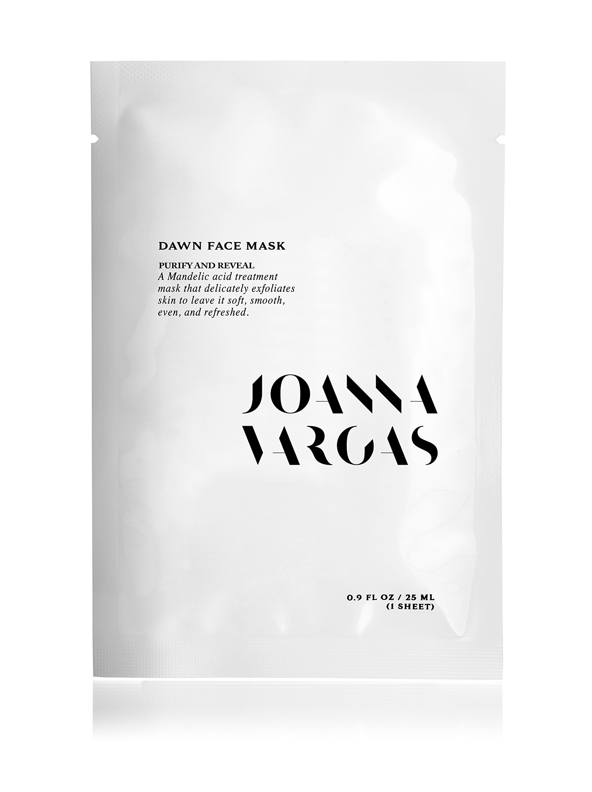 The Joanna Vargas Dawn Face Mask Is A Mandelic Acid Treatment That Will Delicately Exfoliate Your Complexion Leaving It Soft, Even Skin Tone and Refreshed. by Joanna Vargas Skin Care