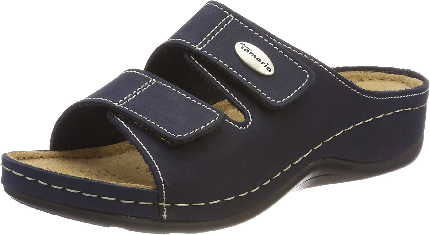 cost charm vast selection online here Tamaris 27510, Mules Femme, Bleu (Navy), 37 EU: Amazon.fr ...