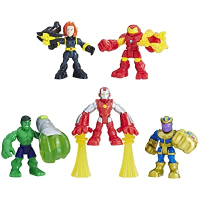 Playskool Heroes Marvel Super Hero Adventures The Power Up Squad: Hasbro: Toys & Games