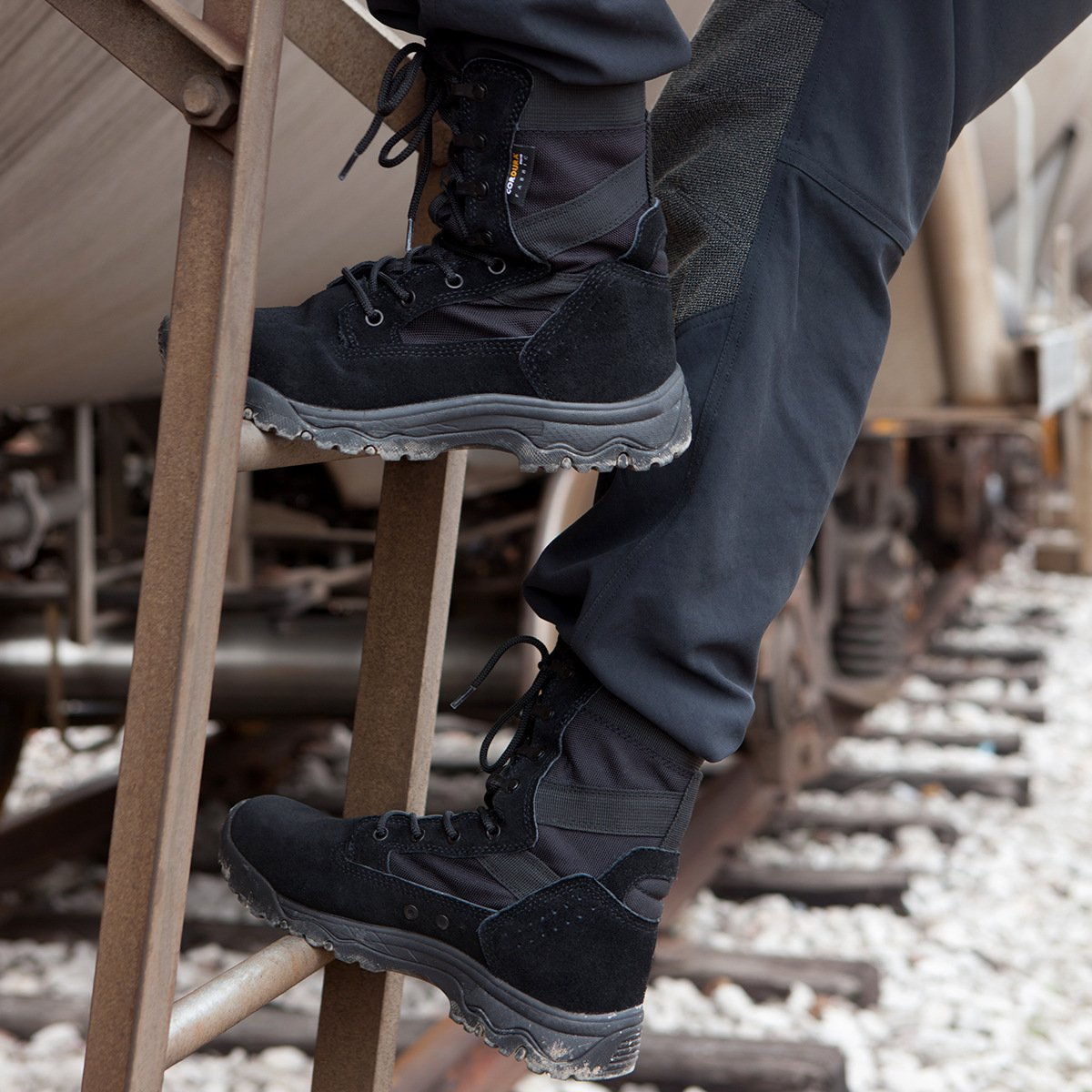 Free Soldier Soldier Soldier Herren Stiefeletten 20,3 cm Zoll Spitze bis Tactical Arbeit Schuhe All Terrain Ultralight Atmungsaktiv Desert Stiefel 16209f