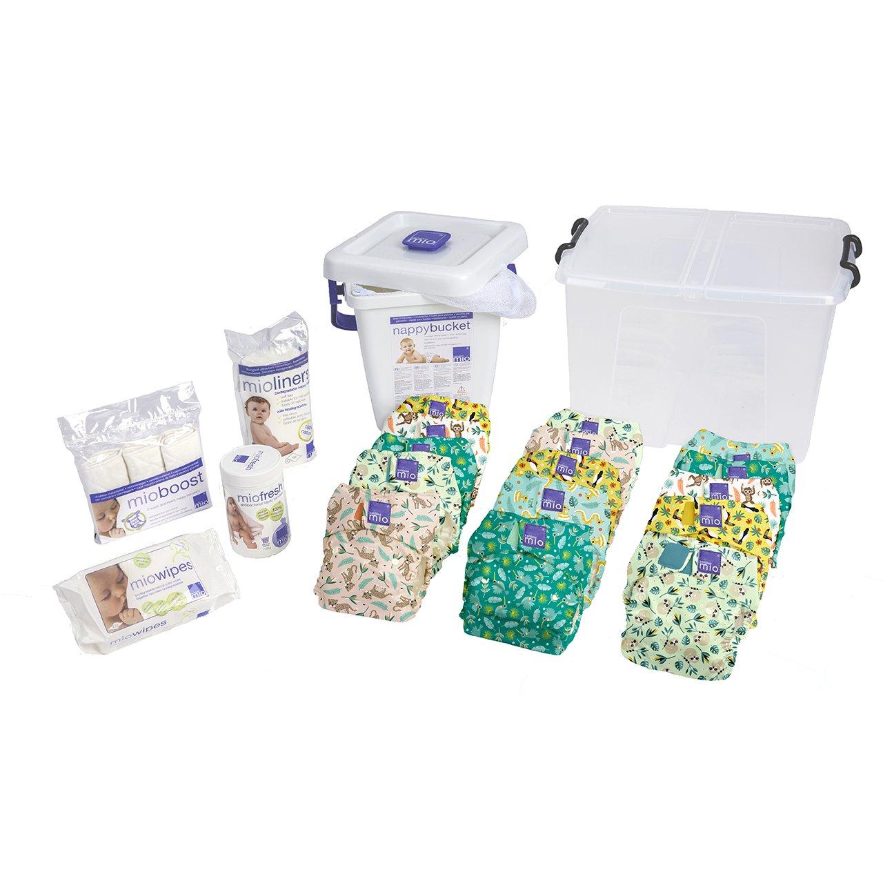 Bambino Mio Miosolo Premium Birth to Potty Pack, Rainforest