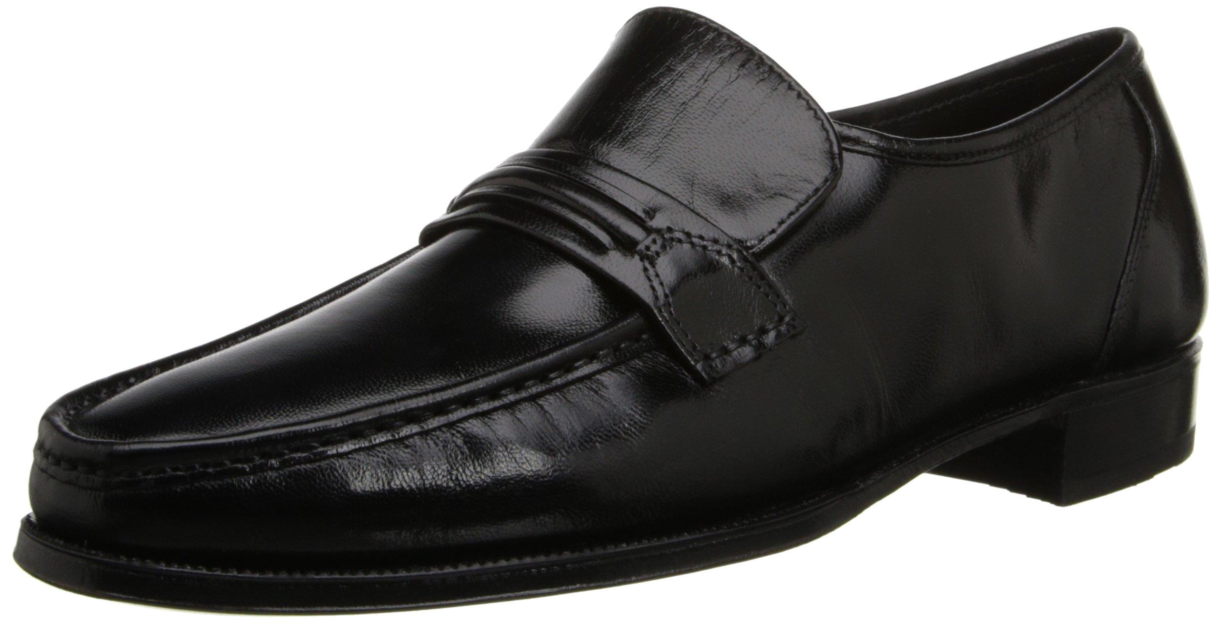 Florsheim Men's Como Slip-On Loafer Black Loafer 10.5 E