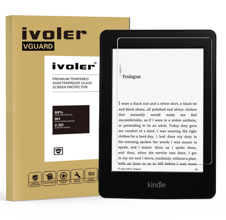 Kindle Paperwhite Protector de Pantalla Cristal iVoler® Film Protector de Pantalla de