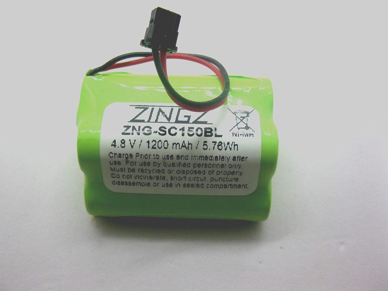 BP180 BP150 BP250 Uniden BBTY0356001 1200 mAh 2-Pack ZZcell Battery For Bearcat Sportcat BP120