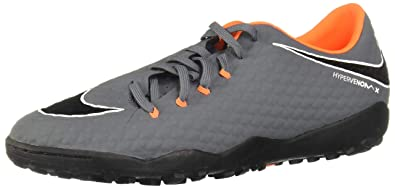 huge selection of 04a24 48aa2 Nike Phantomx 3 Academy TF Chaussures de Fitness Homme, Multicolore (Dark  Grey/Total