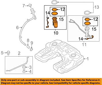bmw fuel pump diagram amazon com bmw e70 x5 passenger right fuel pump assembly genuine  bmw e70 x5 passenger right fuel pump