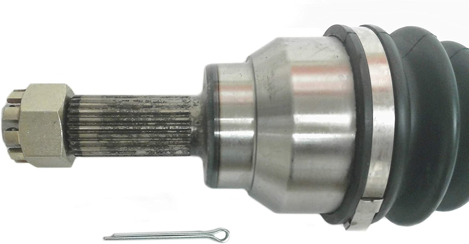 ATV Parts Connection Front Right CV Axle Shaft for Honda Pioneer 700//700-4 2014-2019 4x4 UTV 44250-HL3-A02 Replacement to OE # 44220-HL3-A01