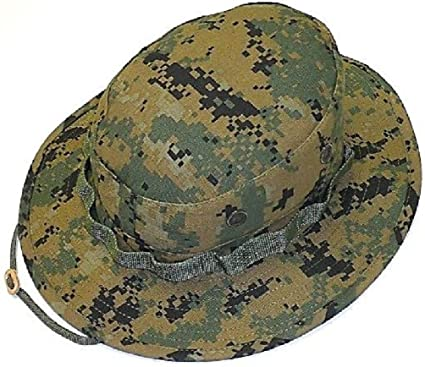 Amazon.com  Marine Woodland Digital Camouflage Boonie Hat No Emblem ... 7e654b58b