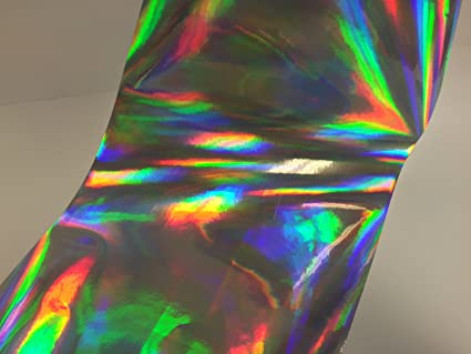 Rainbow Holographic Sign Vinyl 12 inch x 100 Feet Oil slick Ships Free in USA