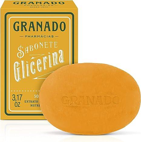 Sabonete Vegetal de Glicerina Mel, Granado, Laranja, 90g