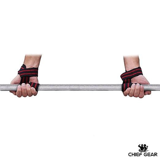 Muñeca envuelve + correas de elevación + Grip Pads Bundle - la última 3-in-1 Fitness paquete a mejorar mano fuerza y apoyo para levantamiento de pesas, ...