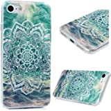iPhone 7 Case, iPhone 8 YOKIRIN Printed Mandala Floral Slim Fit & Lightweight Flexible Hard PC Back Protective Cover Transparent Crystal Clear Scratch-Proof Bumper Case for iPhone 7 (2016) -Totem