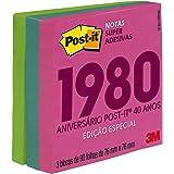 Bloco Adesivo Post-it Coleção Anos 80 - 3 Blocos