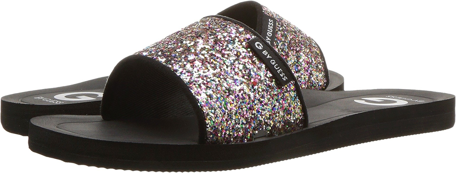 G by GUESS Women's Tomies Rainbow Glitter 7 M US