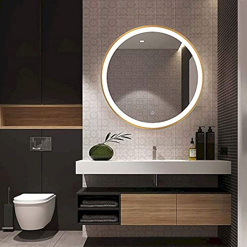 Beauty4U 19.7 Round Mirror