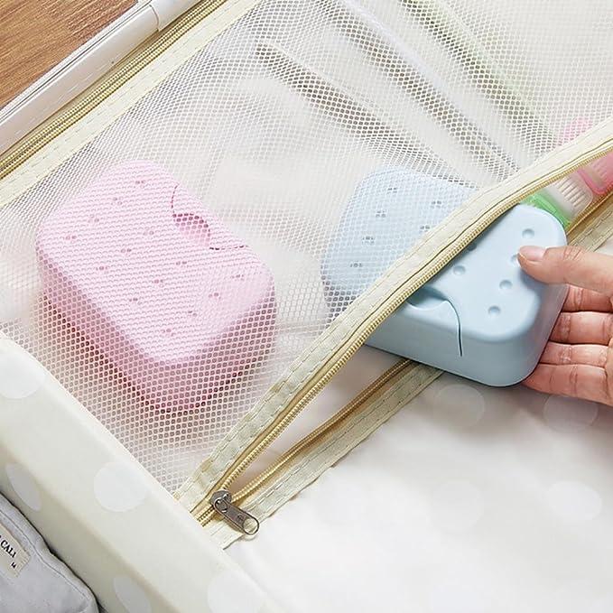 f8c7d3fc67e7 Amazon.com: Lanhui Home Bathroom Soap Case Holder Sink Deck Bathtub ...