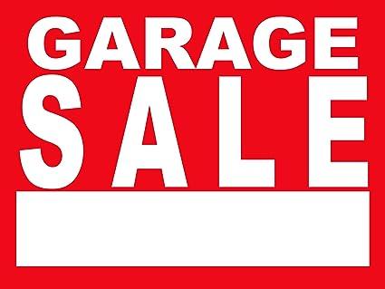 Amazon.com: BannerBuzz Letrero de metal para garaje de venta ...