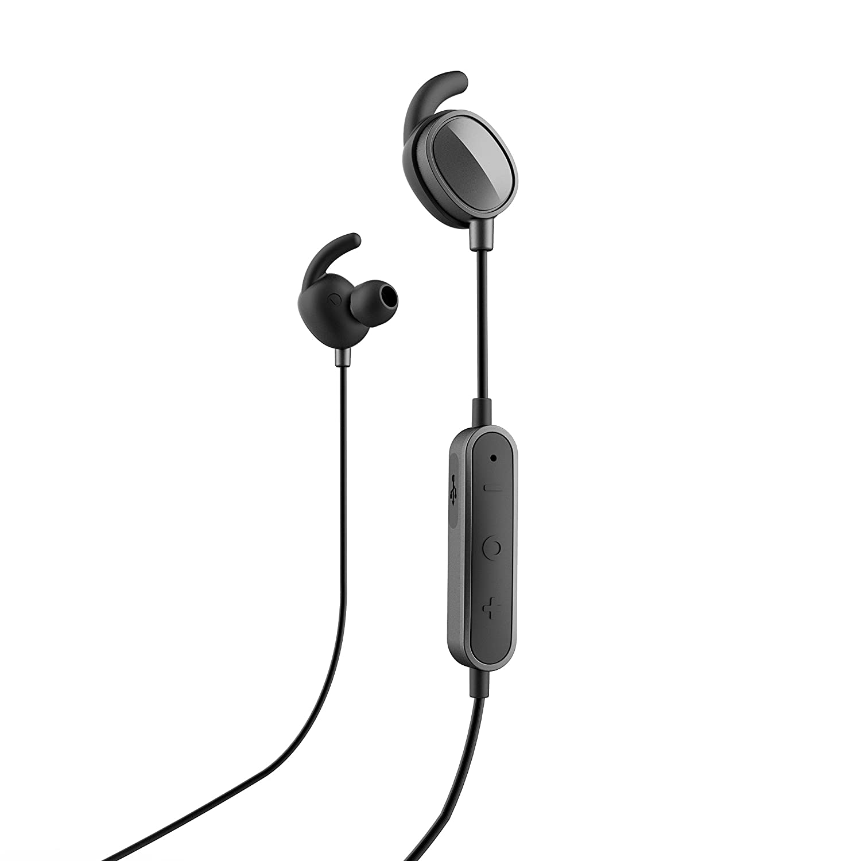 SPC Stork - Auriculares inalambricos (Manos Libres, Control Remoto de la música, micrófono incroporado), Color Negro: Amazon.es: Electrónica