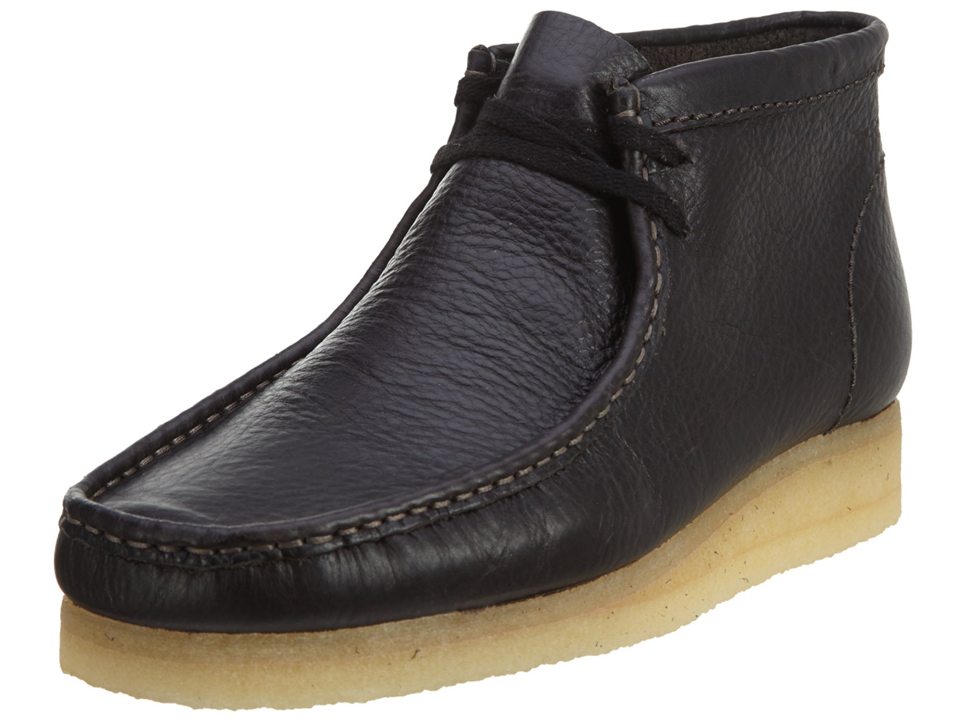 Clarks Men's Wallabee,Charcoal Leather,US 8 M