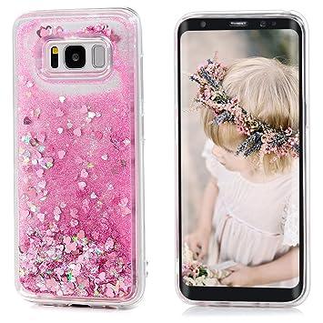 Samsung Galaxy S8 ケース Badalink かわいい おしゃれカバー 耐衝撃 超薄型 超軽量 防塵