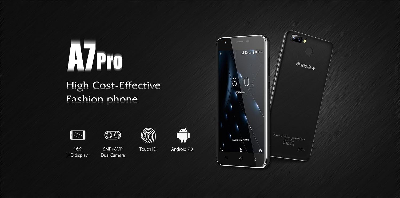 Blackview A7 Pro - 5.0 Pulgadas IPS Pantalla 4G Android 7.0 ...