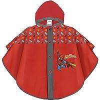PERLETTI Poncho Impermeable Infantes 3 4 5 6 Años Spiderman Azul Rojo - Chubasquero Niño Marvel Spider Man Superhéroe…