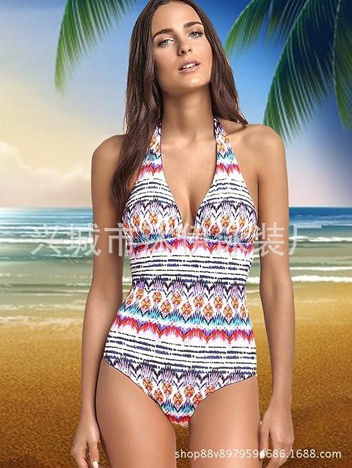 f0cfb390fd56 Sunny Dream Seguridad bañadores de Adelgazamiento Elegante Sello de ...
