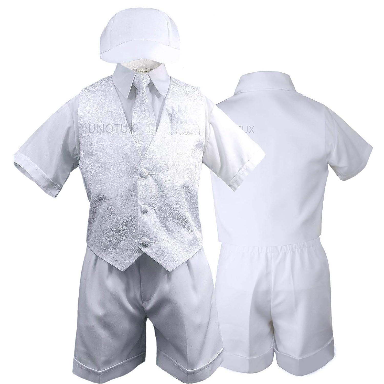 Amazon.com: Baby Boy bebé Bautismo bautizo 5pc Blanco ...
