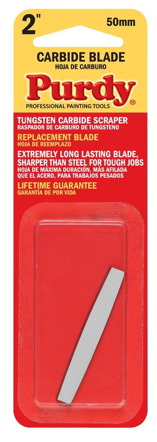 Purdy 140900225 Surface Prep Tool Premium Carbide Scraper Replacement Blades (Case of 10), 2''