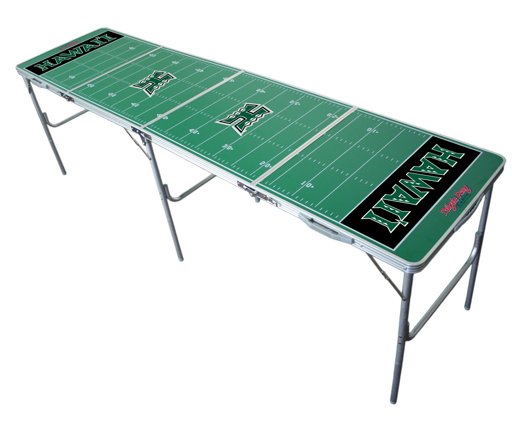 Hawaii Warriors 2x8 Tailgate Table by Wild Sports by Wild Sports