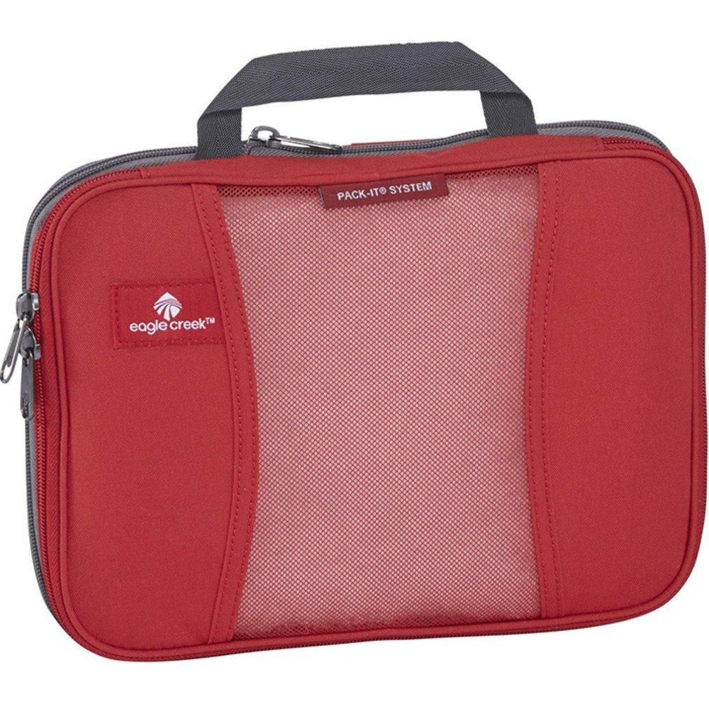 (Red Fire, One Size) - Eagle Creek Pack-It Original Compression Cube Medium Red Fire One Size B00SAP4WQ0