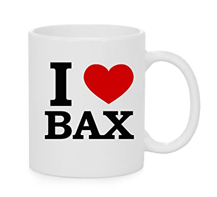 I Heart BAX ( Love ) Official Mug