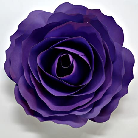 Amazon paper flowers cardstock hand made back drop photo prop paper flowers cardstock hand made back drop photo prop diy gravity grape 1 flower mightylinksfo