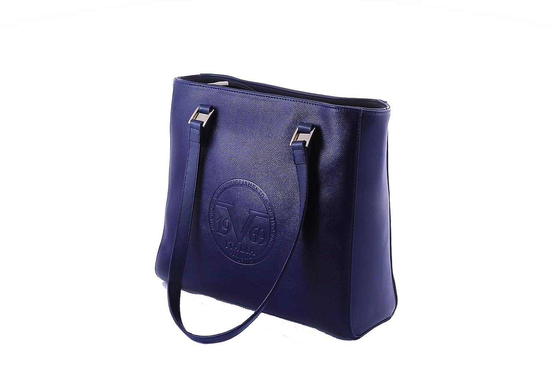 297366ec Versace Women's Shoulder Bag 19V69 Navy Blue: Handbags: Amazon.com