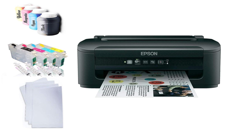 Impresora de sublimación con Tinta de sublimación + Papel de ...